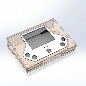 Picture of the console enclosure